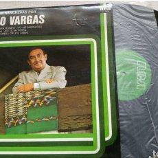 Discos de vinilo: LP PEDRO VARGAS LAS MEJORES RANCHERAS. Lote 150527460