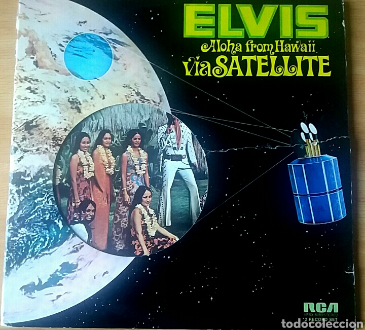 ELVIS. ALOHA FROM HAWAII. DOBLE LP. RCA VICTOR, 1973. (Música - Discos - LP Vinilo - Pop - Rock Extranjero de los 50 y 60)