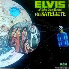 Discos de vinilo: ELVIS. ALOHA FROM HAWAII. DOBLE LP. RCA VICTOR, 1973.. Lote 150542886