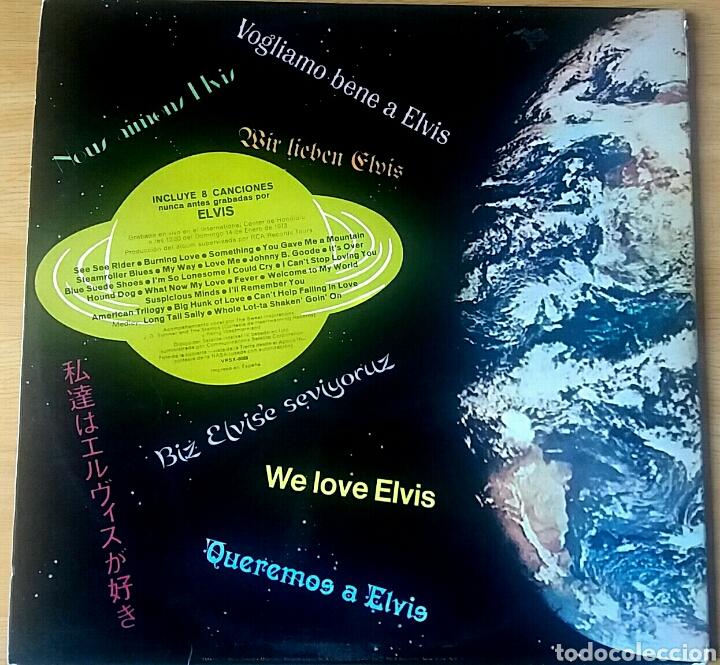 Discos de vinilo: Elvis. Aloha from Hawaii. Doble LP. RCA Victor, 1973. - Foto 2 - 173783008