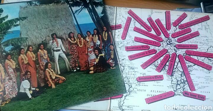 Discos de vinilo: Elvis. Aloha from Hawaii. Doble LP. RCA Victor, 1973. - Foto 3 - 173783008