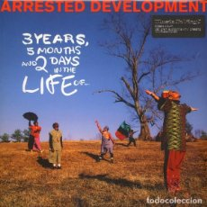 Discos de vinilo: ARRESTED DEVELOPMENT * LP 180G AUDIOPHILE VINYL PRESSING *3 YEARS 5 MONTHS AND 2 DAYS IN THE LIFE OF. Lote 150562614