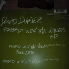 Discos de vinilo: DAVID DURIEZ RAISED WITH WOLYES EP . Lote 150571382