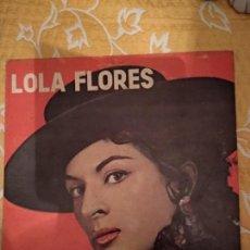 Discos de vinilo: LOLA FLORES SKIPPER LPM 1001. Lote 150575126