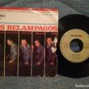 Discos de vinilo: LOS RELAMPAGOS - DOS CRUCES + 3 - EP ESPAÑOL DEL AÑO 1965 - NOVOLA NV 109. Lote 150577802
