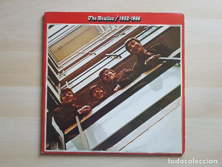THE BEATLES - 1962 - 1966 - LP - VINILO - EMI - 1973 (Música - Discos de Vinilo - EPs - Pop - Rock Extranjero de los 70	)
