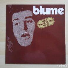 Discos de vinilo: BLUME - SOLO DISCOS DE ORO - LP - VINILO - ACCIÓN - 1971. Lote 150580974