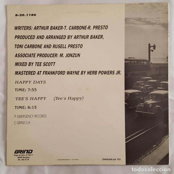 Discos de vinilo: MAXI / NORTHEND FEATURING MICHELLE WALLAGE / HAPPY DAYS / GRIND B-20.1186 - Foto 2 - 150595274