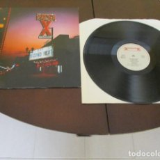 Discos de vinilo: RACER X - LP - SECOND HEAT - MR. BIG - PAUL GILBERT - JUDAS PRIEST - SCOTT TRAVIS. Lote 150599970