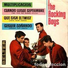 Discos de vinilo: SINGLE THE ROCKING BOYS , CUANDO LLEGUE SEPTIEMBRE, BELTER. Lote 150601846