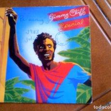 Discos de vinilo: DISCO DE JIMMY CLYFF , SPECIAL Y PEACE OFFICER. Lote 150609454