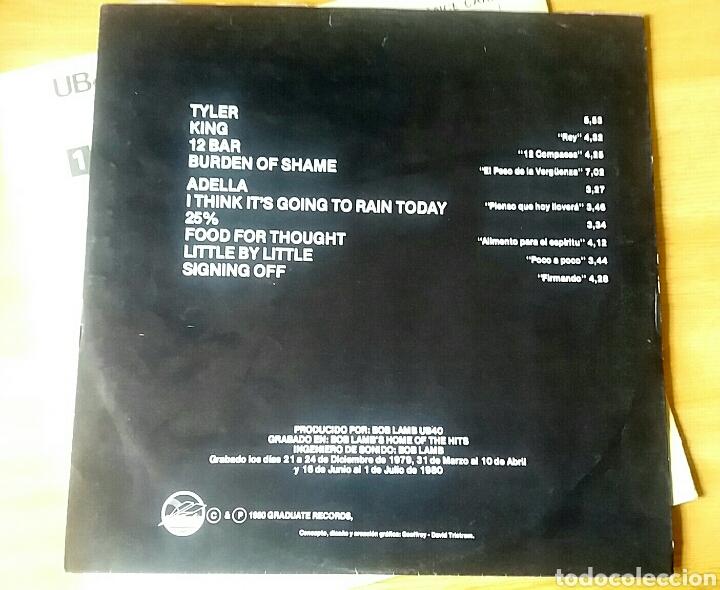 Discos de vinilo: UB40. Signing Off. Lp, 1980 Spain. - Foto 3 - 150616156