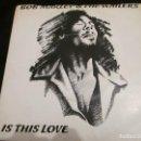 Discos de vinilo: BOB MARLEY & THE WAILERS - IS THIS LOVE - SG - EDICION INGLESA DEL AÑO 1978.. Lote 150619270