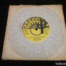 Discos de vinilo: JUDGE DREAD - CHRISTMAS IN DREADLAND - SG - EDICION INGLESA.. Lote 150619582