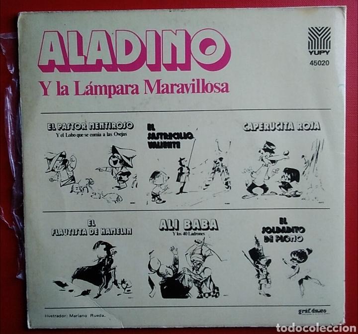 Discos de vinilo: Disco ep aladino y la lámpara maravillosa año 1972 teatro infantil samaniego - Foto 2 - 150621408