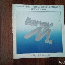 Disques de vinyle: BONEY M.-GREATEST HITS OF ALL TIMES REMIX 88. Lote 150621914
