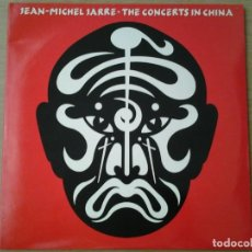 Discos de vinilo: JEAN-MICHEL JARRE -THE CONCERTS IN CHINA - DOBLE LP SELLO POLYDOR EN 1982 GATEFOLD 23 35 261 PERFECT. Lote 150629326