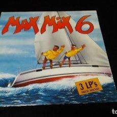 Discos de vinilo: MAX MIX 6 3 LPS BUEN ESTADO. Lote 150629870