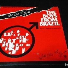 Discos de vinilo: THE BOYS FROM BRAZIL BSO BUEN ESTADO MUY DIFICIL . Lote 150630018