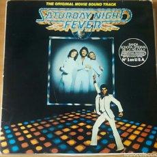 Discos de vinilo: SATURDAY NIGHT FEVER. B.S.O. RSO, SPAIN 1977.. Lote 150635134