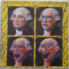 Discos de vinilo: VARIOUS..DECLARATION OF INDEPENDENTS (ROBIN LANE AND THE CHARTBUSTER,THE NEWS,...) AMBITION RECORDS . Lote 150636002