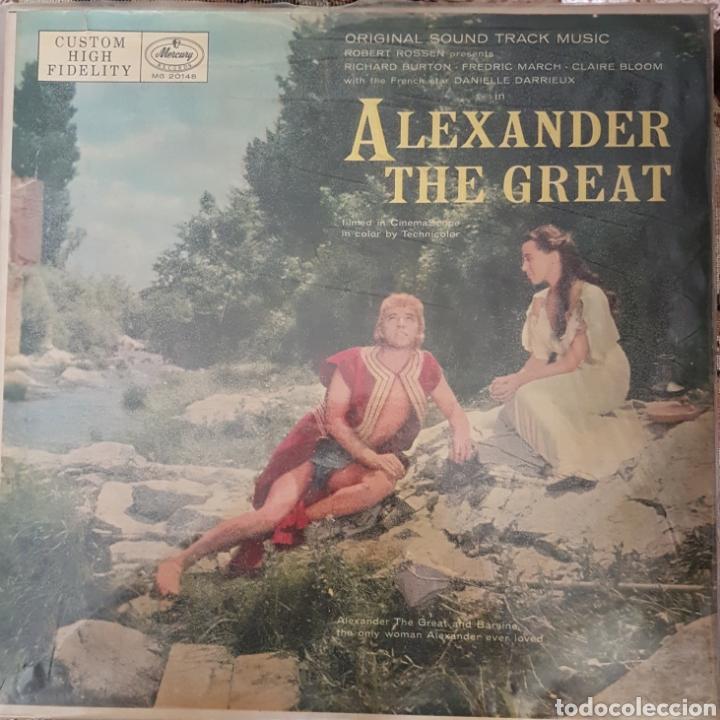 BANDA SONORA DEL FILM ALEXANDER THE GREAT LP SELLO MERCURY EDITADO EN USA. (Música - Discos - LP Vinilo - Bandas Sonoras y Música de Actores )