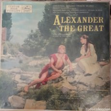 Discos de vinilo: BANDA SONORA DEL FILM ALEXANDER THE GREAT LP SELLO MERCURY EDITADO EN USA.. Lote 150637310