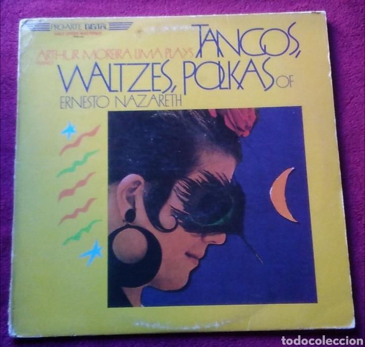 DISCO LP ARTHUR MOREIRA LIMA PLAYS TANGOS WALTZES POLKAS OF ERNESTO NAZARETH AÑO 1983 (Música - Discos - LP Vinilo - Flamenco, Canción española y Cuplé)