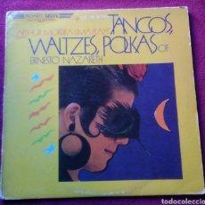 Discos de vinilo: DISCO LP ARTHUR MOREIRA LIMA PLAYS TANGOS WALTZES POLKAS OF ERNESTO NAZARETH AÑO 1983. Lote 150638581