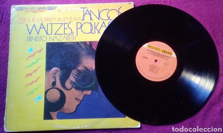 Discos de vinilo: Disco lp Arthur moreira lima plays tangos waltzes polkas of Ernesto Nazareth año 1983 - Foto 3 - 150638581