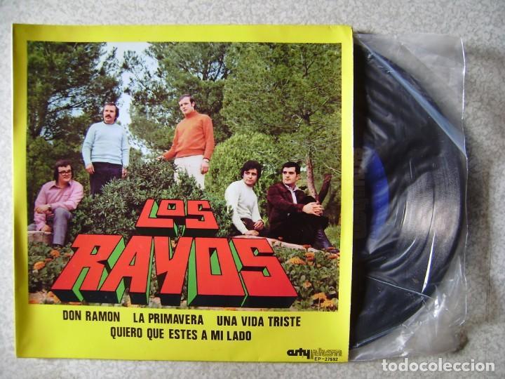 LOS RAYOS.DON RAMON + 3..HUESCA (ARAGON)...MUY RARO...EX (Música - Discos de Vinilo - EPs - Grupos Españoles de los 70 y 80)