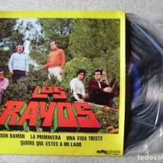 Discos de vinilo: LOS RAYOS.DON RAMON + 3..HUESCA (ARAGON)...MUY RARO...EX. Lote 150640874