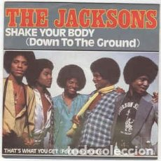 Discos de vinilo: THE JACKSONS - SHAKE YOUR BODY (DOWN TO THE GROUND)(EPIC – EPC 7124 7'', SINGLE, FRANCE, 1979). Lote 150642110