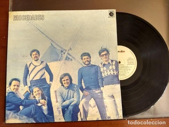 LP MOCEDADES - MOCEDADES - NOVOLA 1973 (Música - Discos de Vinilo - EPs - Grupos Españoles de los 70 y 80)