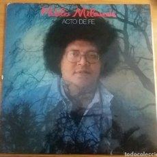 Discos de vinilo: PABLO MILANÉS. ACTO DE FE. LP ESPAÑA, 1982.. Lote 150665129