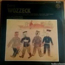 Discos de vinilo: WOZZECK. ALBAN BERG.DOBLE LP. NEWYORK PHILARMONIC, DIMITRI MITROPOULOS. MASTERWORK PORTRAIT, EUROPE.. Lote 150668545