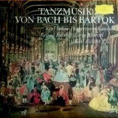 Discos de vinilo: TANZMUSIK VON BACH BIS BARTOK. DEUTSCHE GRAMMOPHON, YUGOSLAVIA STV 213527.. Lote 150669832