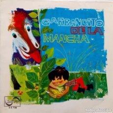 Discos de vinilo: GARBANCITO DE LA MANCHA.TEATRO INVISIBLE RADIO NACIONAL ESPAÑA - SINGLE ZAFIRO ROJO 1966. Lote 150673350