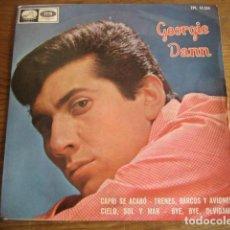 Discos de vinilo: GEORGIE DANN - TRENES, BARCOS... + 3 ********** RARO EP 1965 VERSIÓN BACHARACH. Lote 150678218
