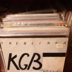Discos de vinilo: KGB /TREBLINKA/DRO 1983. Lote 150684682
