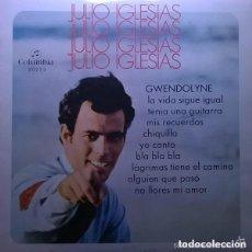 Discos de vinilo: JULIO IGLESIAS– JULIO IGLESIAS - LP 10 PULGADAS COLUMBIA 1970. Lote 150685230