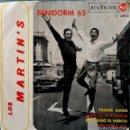 Discos de vinilo: LOS MARTIN'S - BENIDORM 65 - PRIMER AMOR + 3 CANCIONES MÁS - EP ESPAÑOL RCA VICTOR 3-20925 AÑO 1965. Lote 150726146