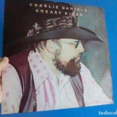 Discos de vinilo: UNEASY RIDER LP 1976, LOTE 712. Lote 150741186