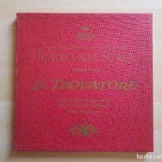 Discos de vinilo: GIUSEPPE VERDI - IL TROVATORE - LP - TRIPLE VINILO - TEATRO ALLA SCALA - 1968. Lote 150743102