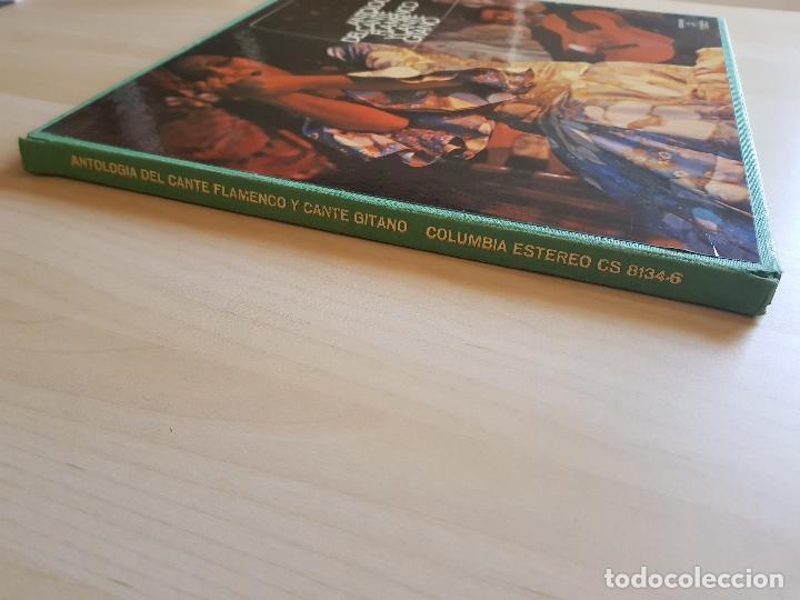 Discos de vinilo: ANTOLOGÍA DEL CANTE FLAMENCO Y CANTE GITANO - LP - TRIPLE VINILO - COLUMBIA - 1977 - Foto 3 - 150743730
