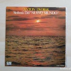 Discos de vinilo: ANTON DVORAK - SINFONÍA DEL NUEVO MUNDO - LP - VINILO - GRAMUSIC - 1973. Lote 150746082
