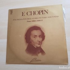 Discos de vinilo: F. CHOPIN - POLONESAS, ESTUDIOS, VALSES, FANATASÍA, NOCTURNO - LP - VINILO - DISCOPHON - 1973. Lote 150747066
