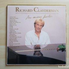 Discos de vinilo: RICHARD CLAYDERMAN - MIS CANCIONES FAVORITAS - LP - DOBLE VINILO - DELPHINE - 1991. Lote 150750414
