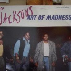 Discos de vinilo: THE JACKSONS ART OF MADNESS. Lote 150777162