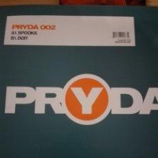 Discos de vinilo: PRYDA 002 SPOOKS DOIT. Lote 150777346